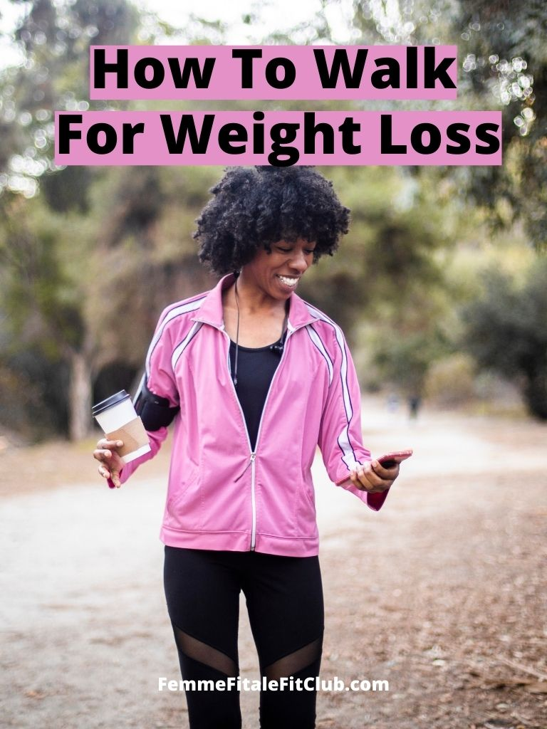 Walk off the pounds with these 5 easy to follow tips.  #weight #walkoffthepounds #weightlosstips #fatloss #cardio