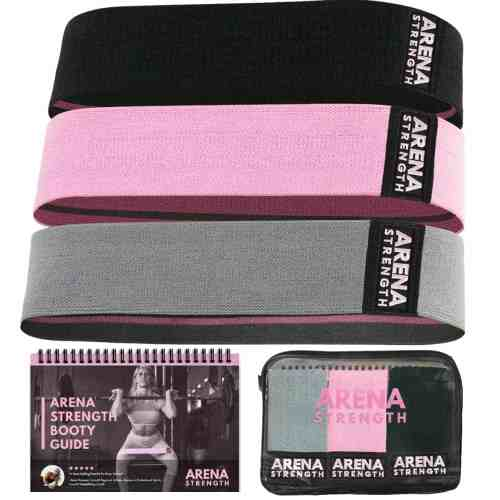 Pick up your set of Arena Strength Bands.  These best fabric booty bands or hip circles will help you tone and lift your glutes in no time.  #arenastrength #arenastrengthwomen #arenastrengthbootybands #bootybands #hipcircles