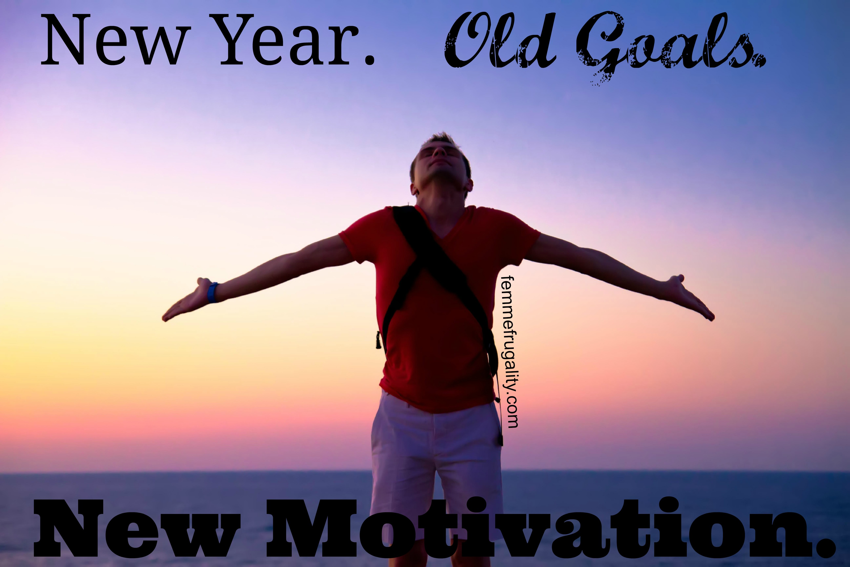 New Year Old Goal New Energy
