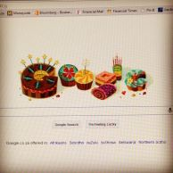 Even google remembered my birthday!