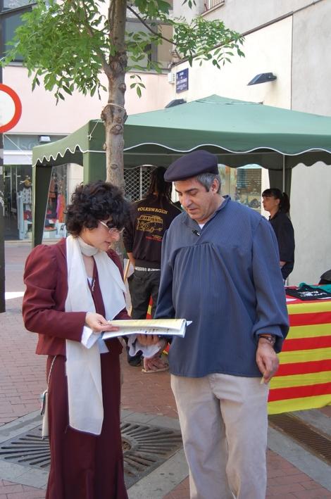 Nuria (organitzadora de la Fira Modernista)