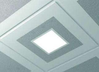 LED lámpa fém álmennyezetbe illeszthető