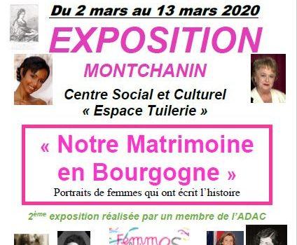 """Montchanin – Exposition """"Notre matrimoine en Bourgnone"""""""