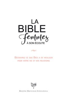 Nouvelles Bibles Femmes à son écoute - conçues spécifiquement pour les femmes