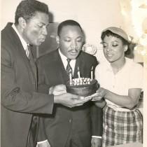 Ruby Dee - 4 avec Ossie Davis et Martin Luther King