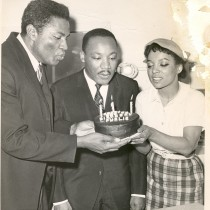 Ruby Dee - 4 avec Ossie Davis et Martin Luther King