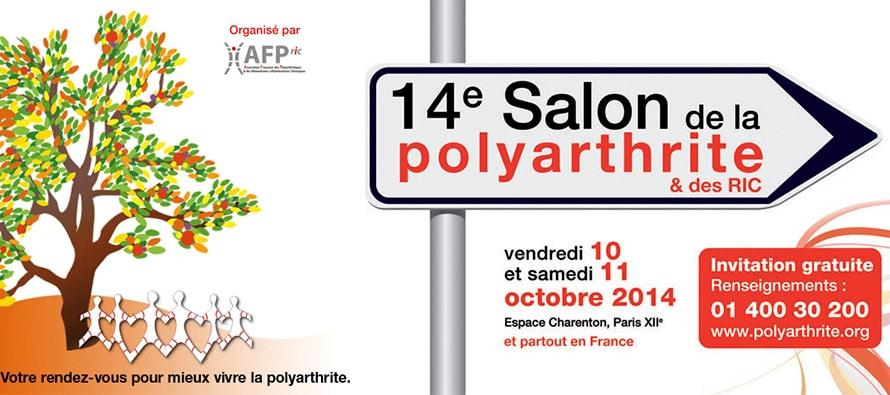 Le 14e Salon de la polyarthrite et des rhumatismes inflammatoires chroniques (RIC)