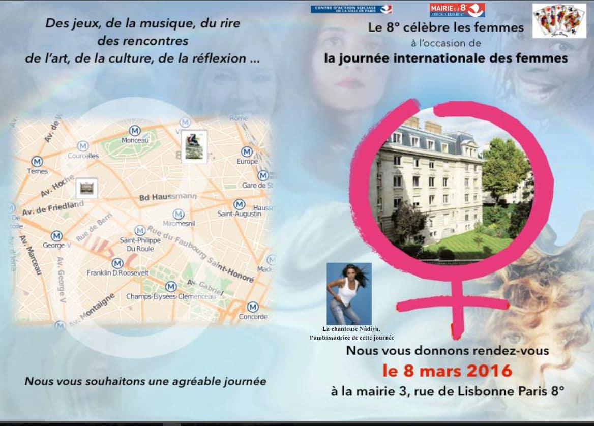La Journée Internationale des Femmes 2016 – Demandez le programme…