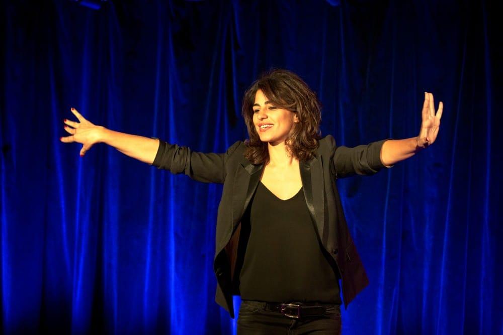 """Théâtre: Sarah Doraghi, """"Deux nationalités, un même coeur""""!"""