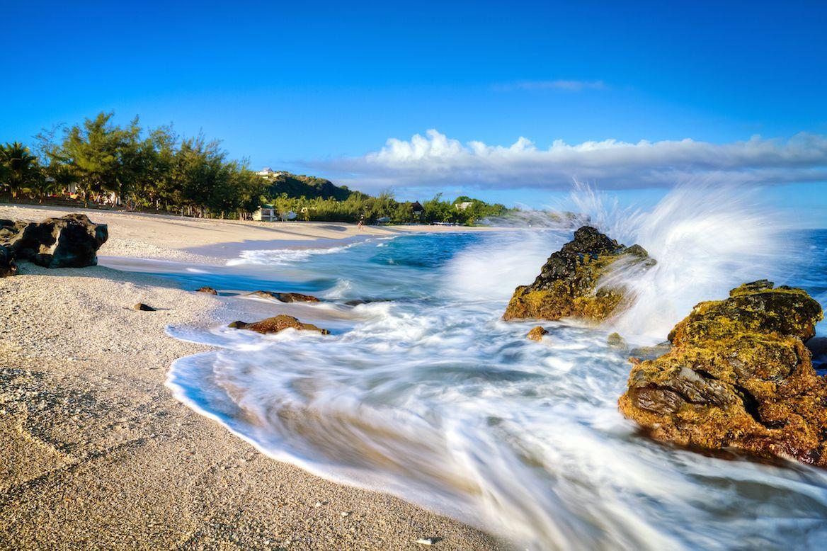 A la plage… Destination la Réunion