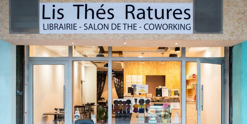 Lis Thé Ratures: 3 espaces en un seul et même lieu