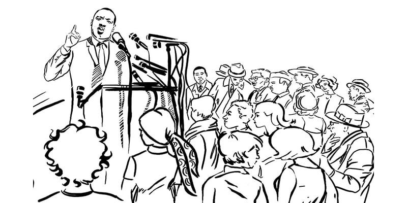 15 janvier : journée d'hommage à Martin Luther King