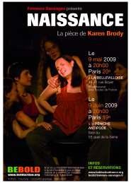 affiche Naissance 2009