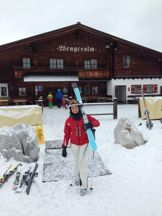 carregando o ski