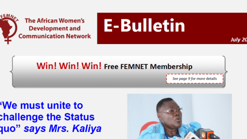 Win! Win! Win! Free One Year Membership to FEMNET