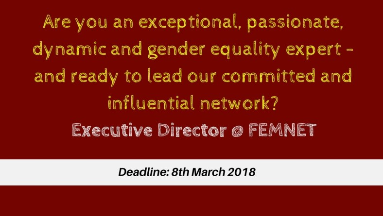Come Join FEMNET family!