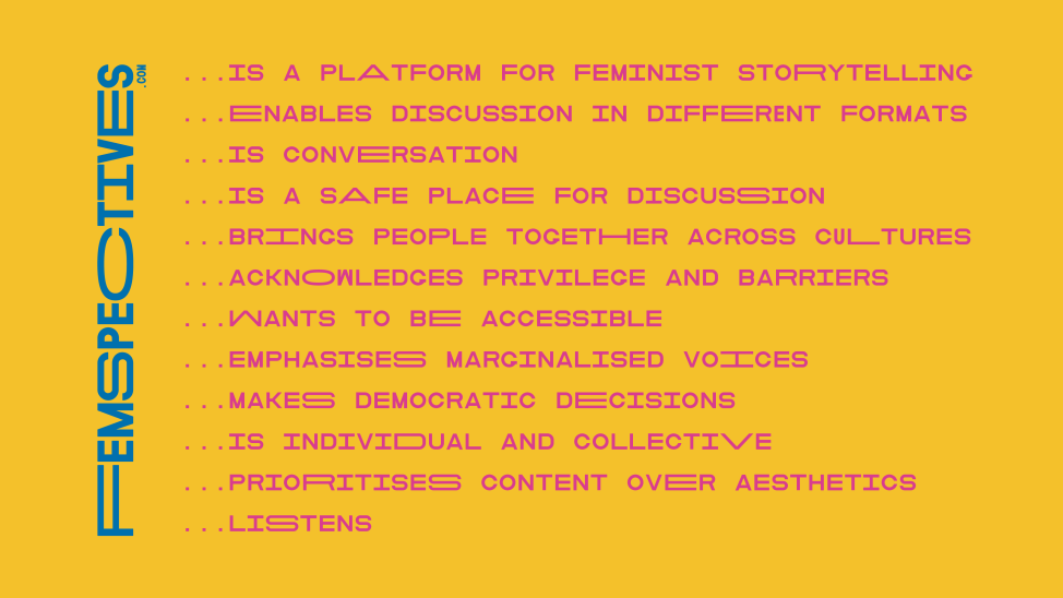 Femspectives Mission Statement