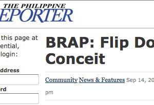 FenaxiZ Mentioned In The Philippine Reporter