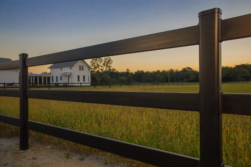Summit Steel Ranch Rail Fence Fence Amp Deck Supply