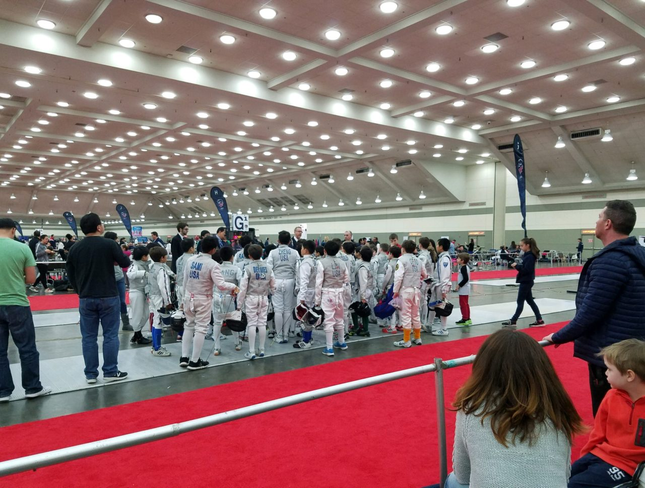 Fencing at Competitions