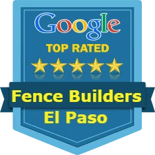 a top google rated fence company in El Paso