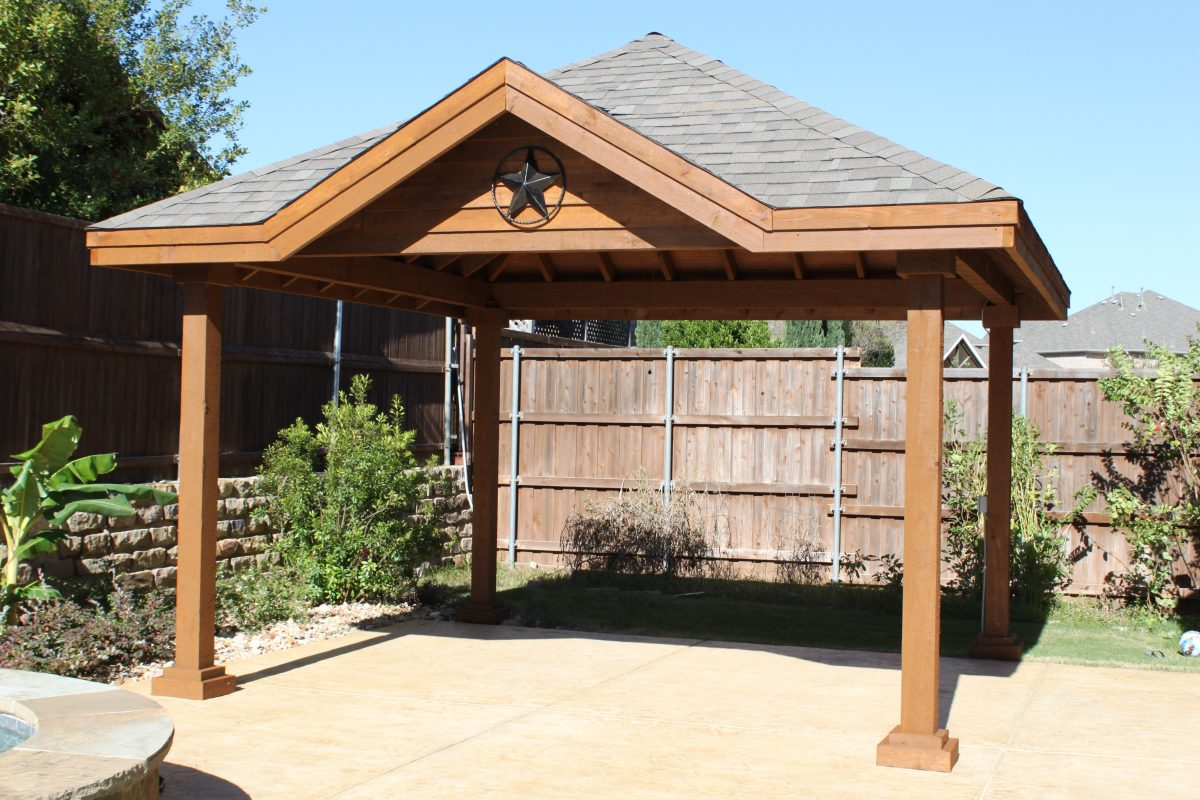 Patio Cover Installation Fence Max Texas