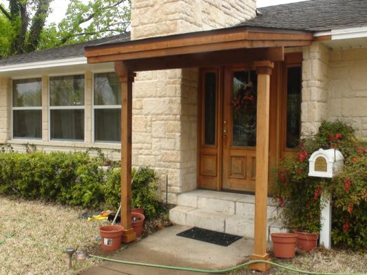 433 small patio cover 2 fence max texas