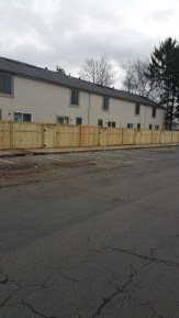 apartment fences