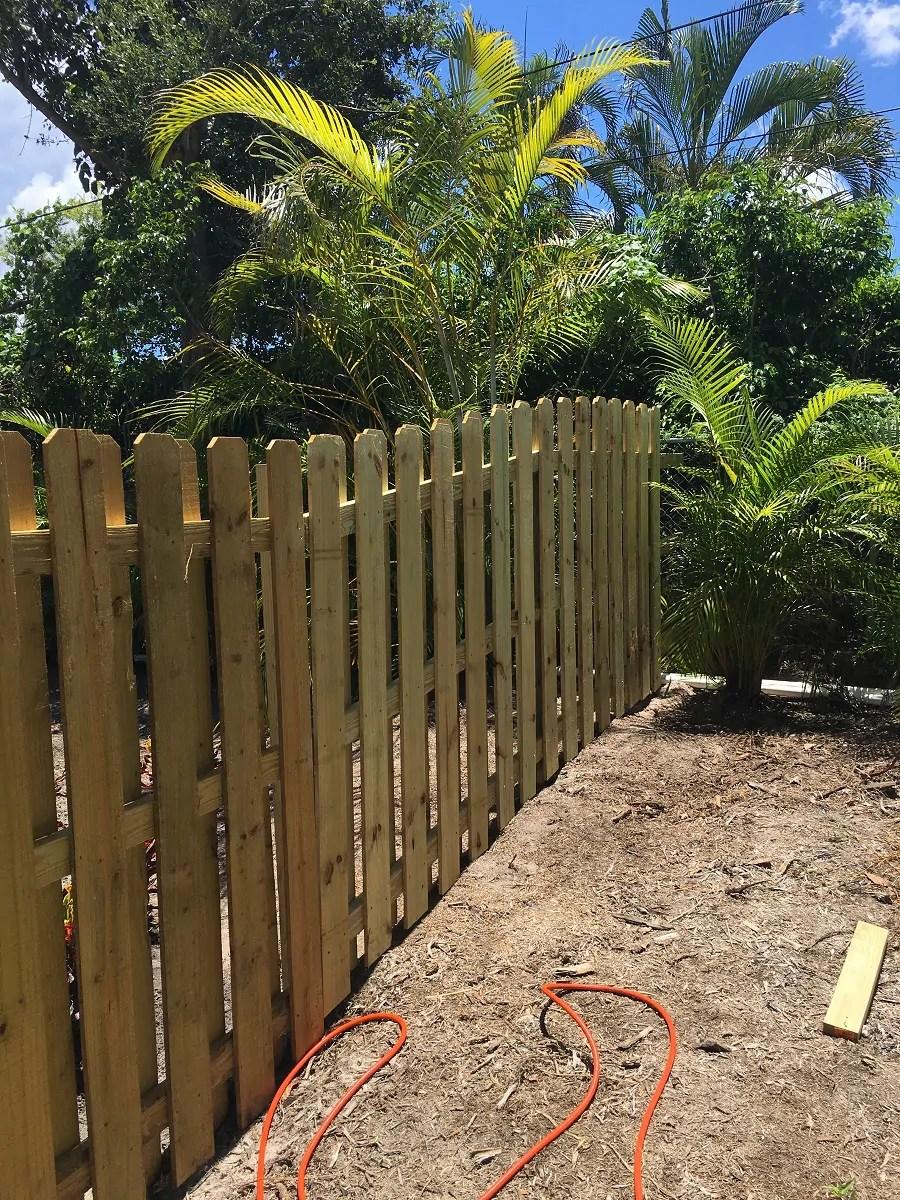 a fence repair job in Wichita Falls Texas