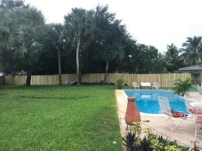 a new pool fence installation in Wichita Falls Texas