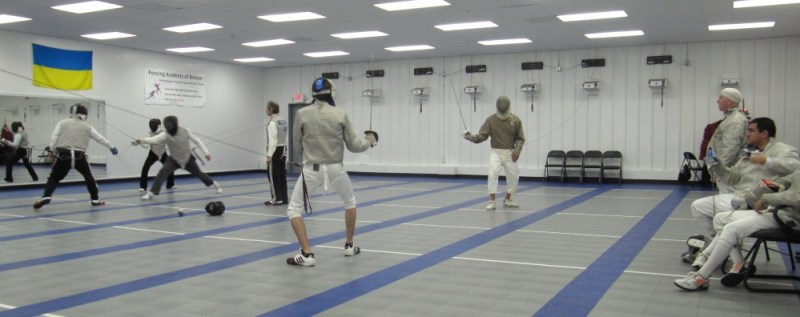 FAB foil saber open fencing practice