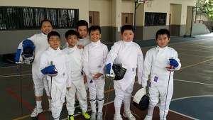 Poi Ching School Fencers