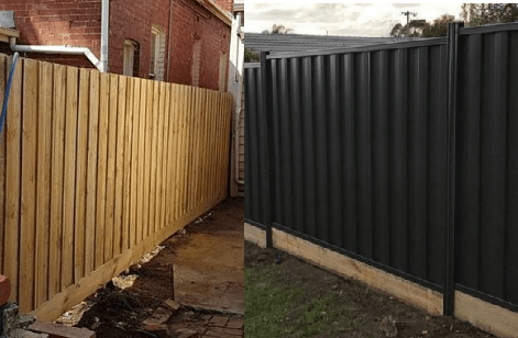 Timber vs Colorbond