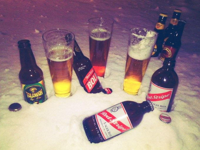 Talawah Lager, Red Stripe Bold & Red Stripe
