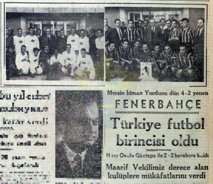 Fenerbahçe 6. Kez Türkiye Şampiyonu