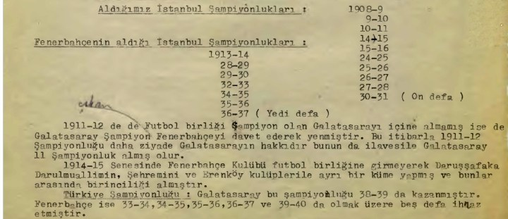 Ali Sami Yen ve 1959 Öncesi