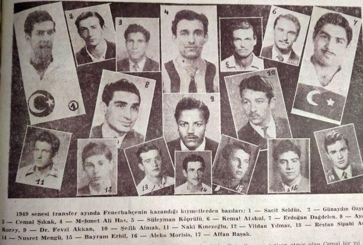 1950 Sezonu Transferleri