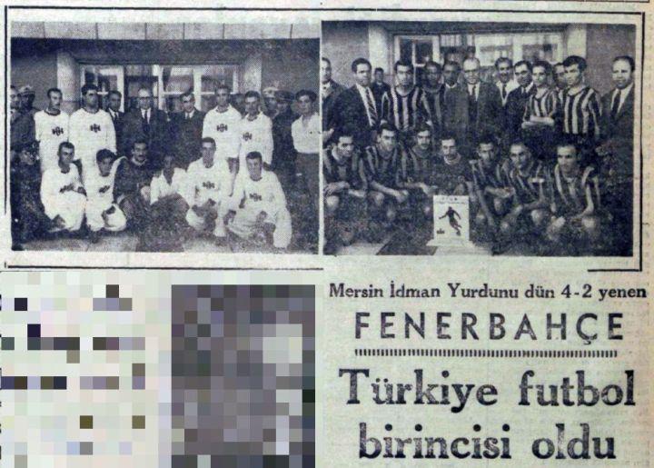 Fenerbahçe'nin Altıncı Türkiye Şampiyonluğu