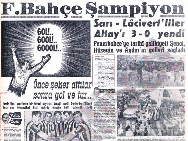 Fenerbahçe'nin On İkinci Türkiye Şampiyonluğu