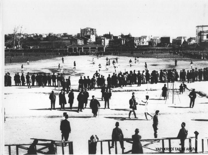 Atatürk Fenerbahçe Stadı'nda!