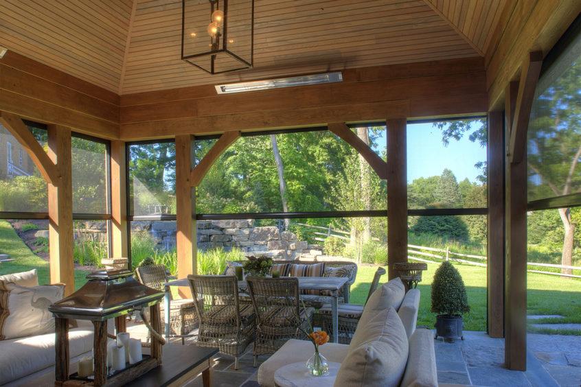 retractable porch screen enclosures