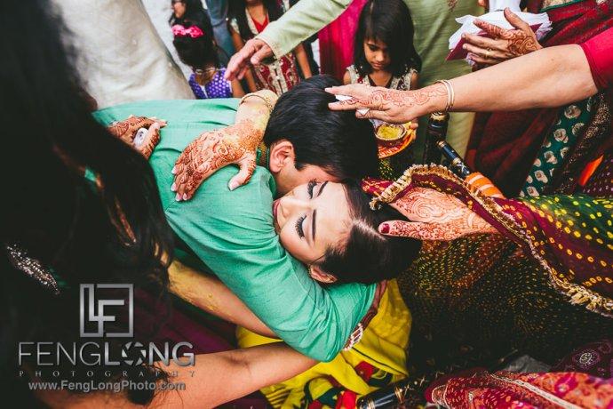 Cocoa Beach Destination Indian Ismaili Wedding - Pithi Ceremony