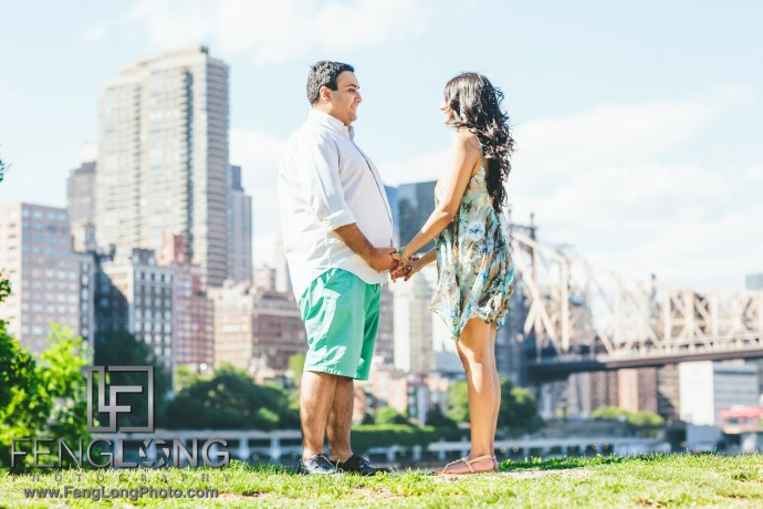 Roosevelt Island Indian Engagement Session