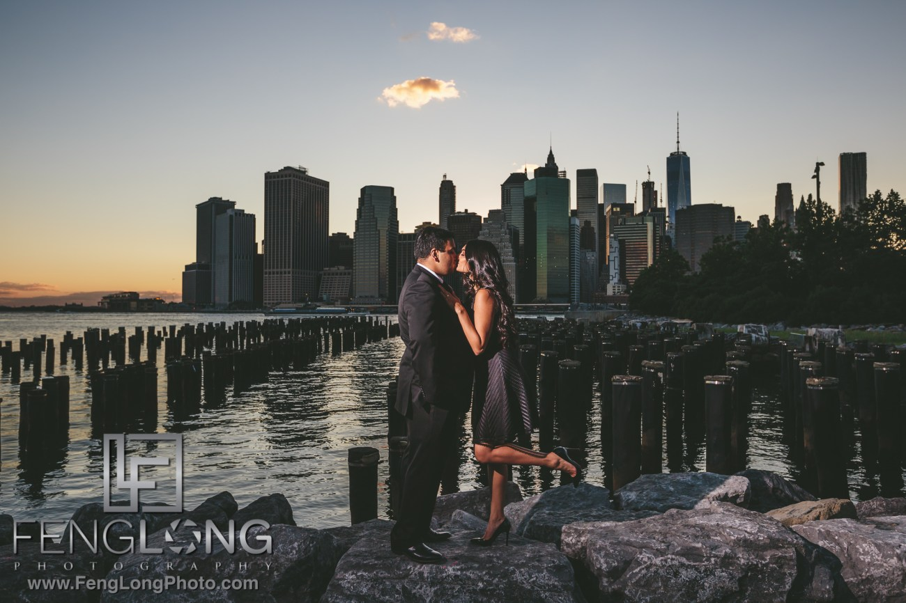 Brooklyn Indian Engagement Session