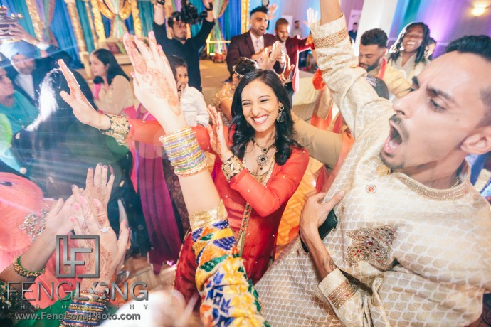 Indian Wedding Sangeet with Canon 5D Mark IV