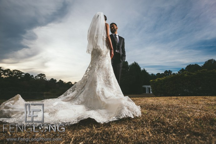 Bride and Groom Portraits with Canon 5D Mark IV