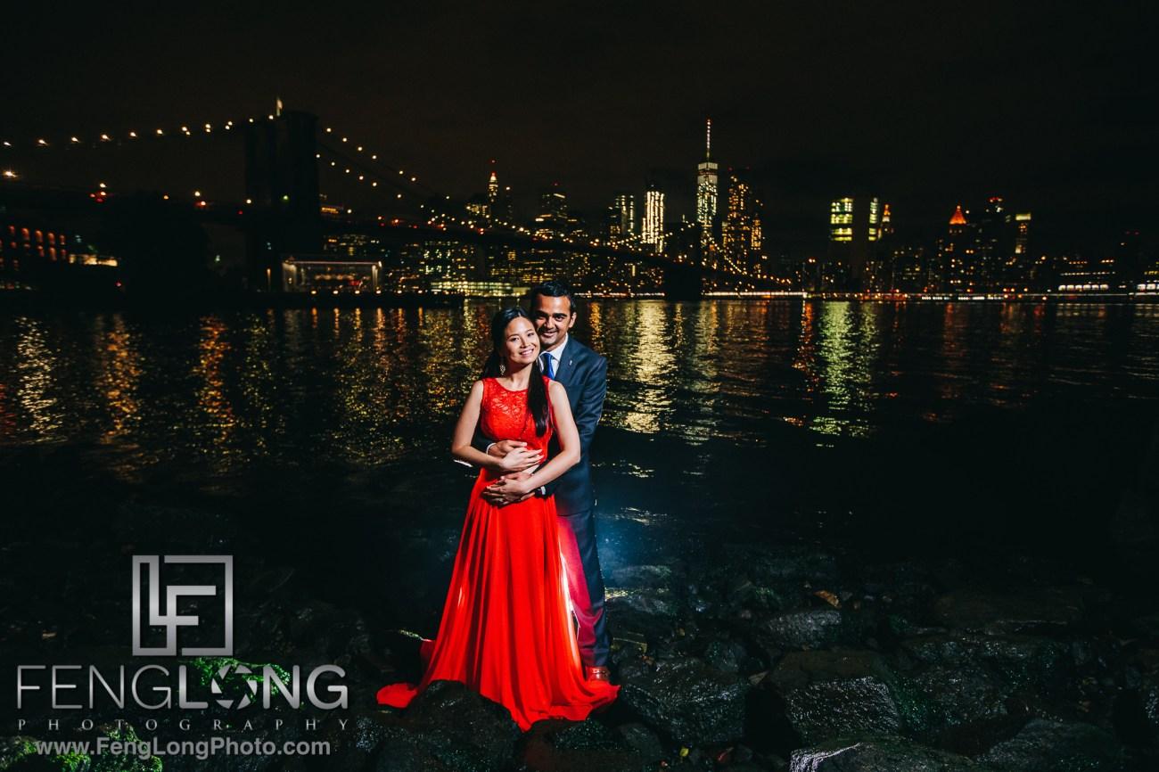 Brooklyn Bridge Vietnamese Indian Fusion Engagement