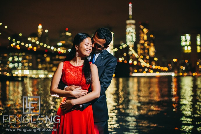 Brooklyn Bridge Vietnamese Indian Fusion Engagement