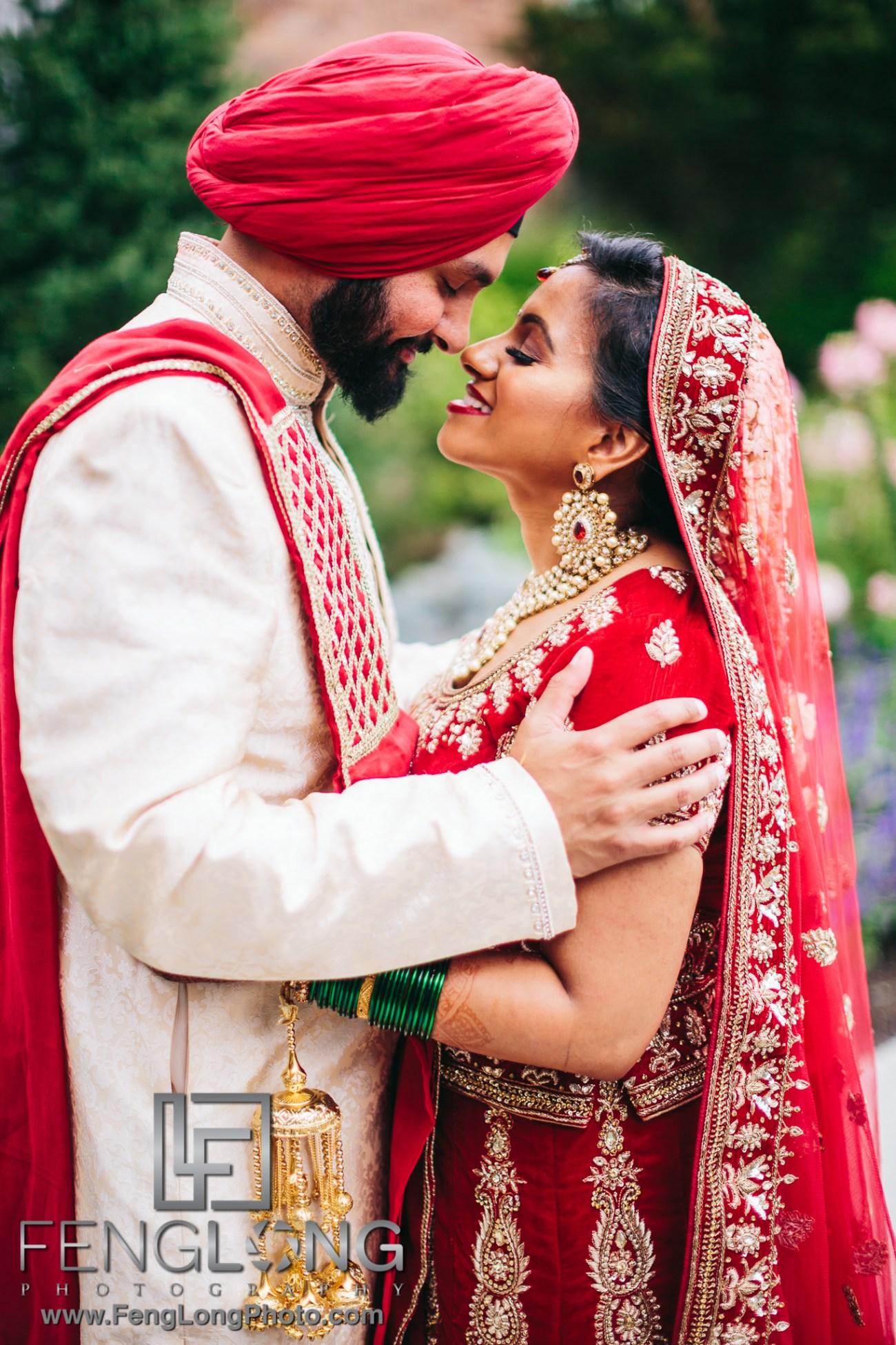 Parsippany New Jersey Sikh Hindu Fusion Indian Wedding