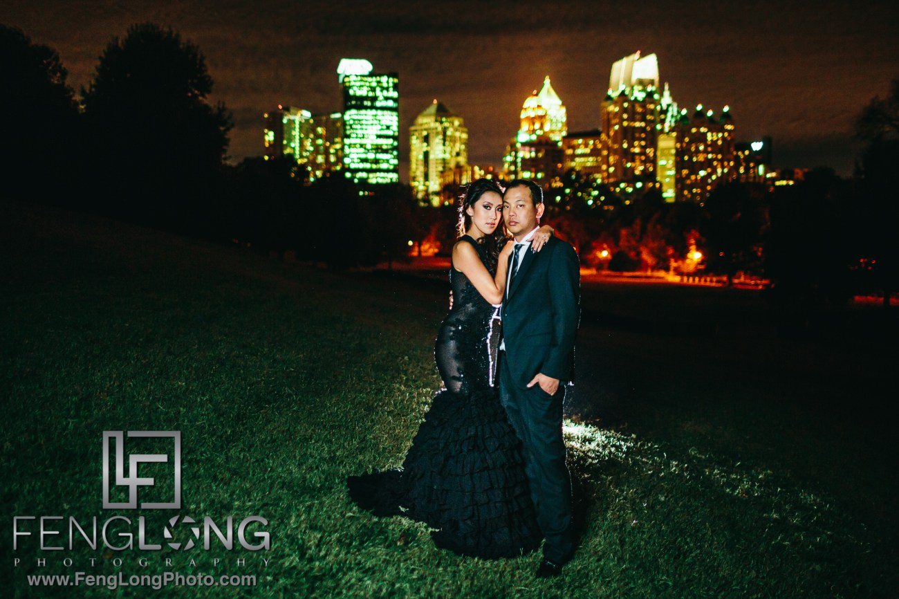 Vietnamese PreWedding Engagement in Midtown